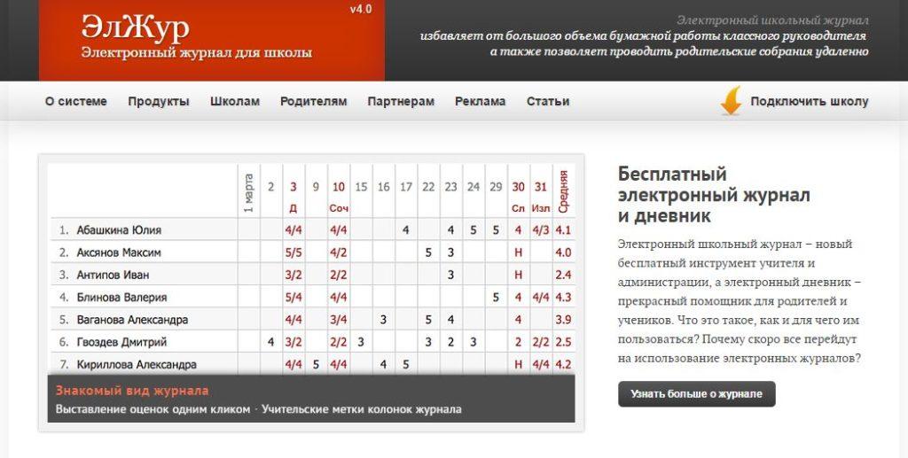 Электронный журнал 39 школа Саранск